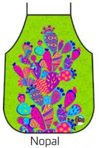 Mexican Apron Nopal